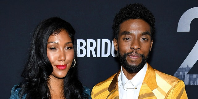 Taylor Simone Ledward and Chadwick Boseman married before he died in August.