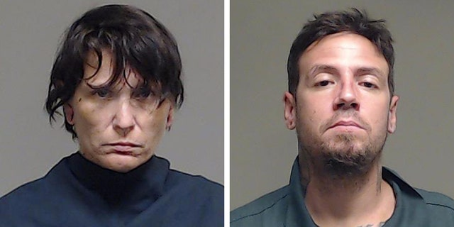 Roland (right) and Donna Grabowski were arrested Saturday. (Courtesy: Collin County Sheriff's Office)