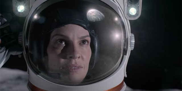 Hilary Swank stars as Emma Green in Netflix's 'Away.' Green must leave her family behind to embark on a three-year journey to Mars.