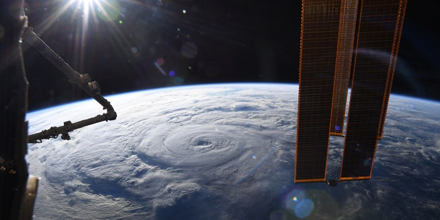 The images were tweeted by Chris Cassidy Aug. 19. (Chris Cassidy/NASA)