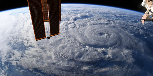 NASA astronaut Chris Cassidy captured the images from the International Space Station.