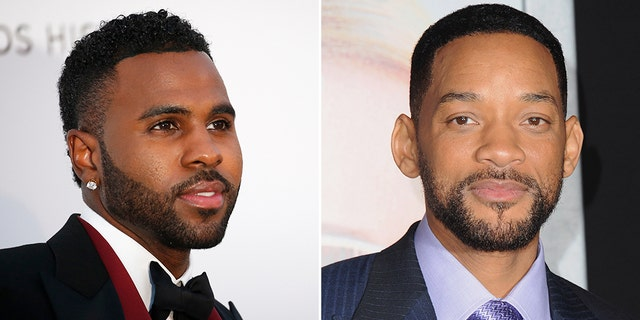 Jason Derulo knocks out Will Smith's teeth in golf video