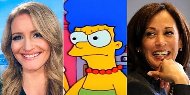 Jenna Ellis caused a frenzy on Twitter this week after joking that Kamala Harris has a similar voice to Marge Simpson.