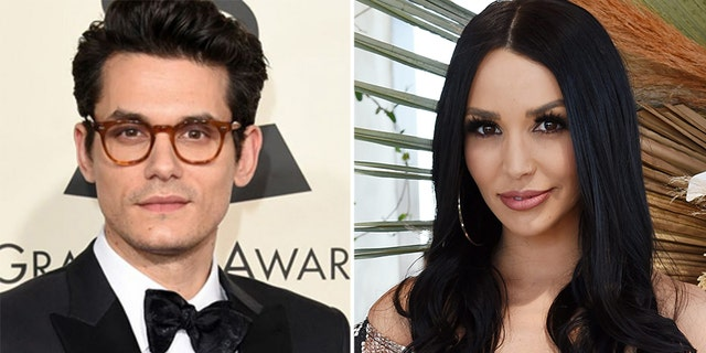 John Mayer and Scheana Shay.
