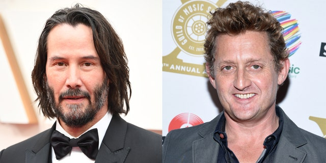 Keanu Reeves (left) and Alex Winter, stars of 'Bill & Ted Face the Music.'