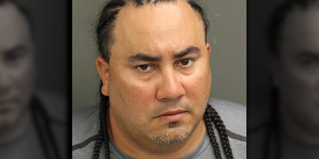 Kelvis Rodriguez-Tormes, 37, was reportedly arrested on charges of First Degree Murder with a Firearm, Destruction of Evidence, and Possession of a Firearm by a Convicted Felon. (OCSO)