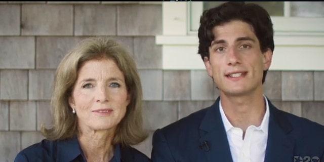 Caroline Kennedy, left, and her son,Jack Schlossberg.