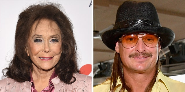 Loretta Lynn and Kid Rock