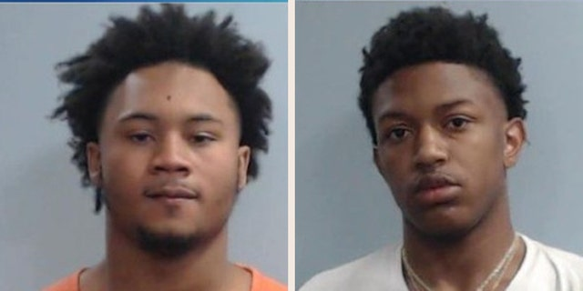Cion Townsend, left, and Nasir Lyons were arrested.