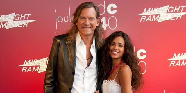 Bill Hutchinson (left) and his fiancee Brianna Ramirez, (right) from