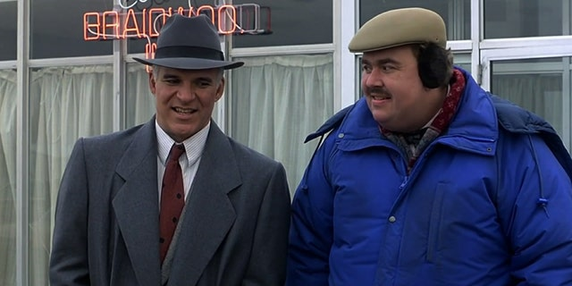 Steve Martin (left) and John Candy in 1987's 'Planes, Trains & Automobiles.'