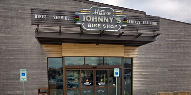 Mellow Johny's Bike Shop in Austin, Texas. (Google Earth)