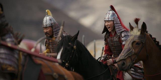 Yifei Liu as Mulan is the Disney remake.