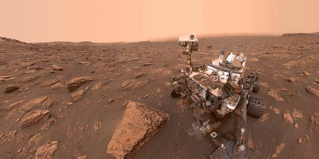 The Curiosity Rover in a selfie taken on Martian Sol 2082 -June 15, 2018 Earth time.