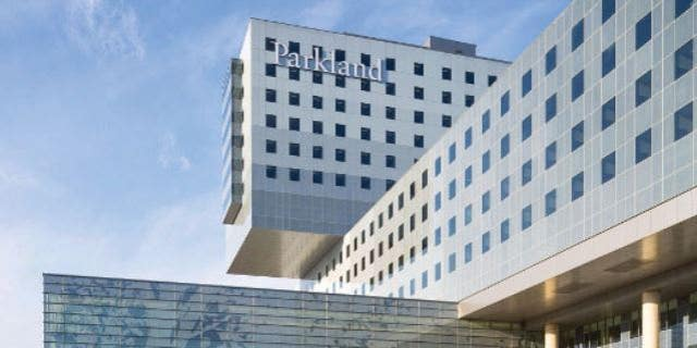 Parkland Hospital in Dallas where Alexa was born with COVID-19.