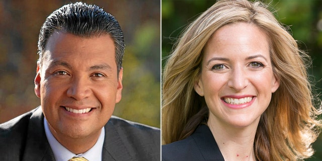 California Secretary of State Alex Padilla and Michigan Secretary of State Jocelyn Benson spoke at the Democratic National Convention (Official)