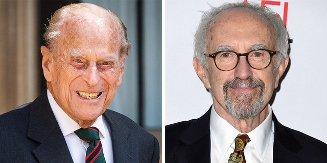 Prince Philip (left) and 'Game of Thrones' alum Jonathan Pryce.