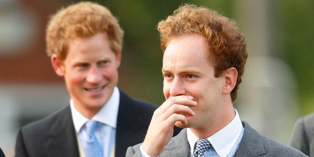 Prince Harry (left) has been friends with Tom Inskip (right) since their days at Eton College.