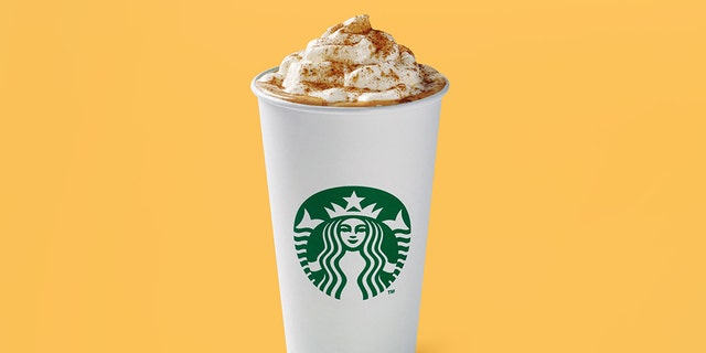 Starbucks Pumpkin Spice Latte is out Tuesday in stores. (Starbucks)
