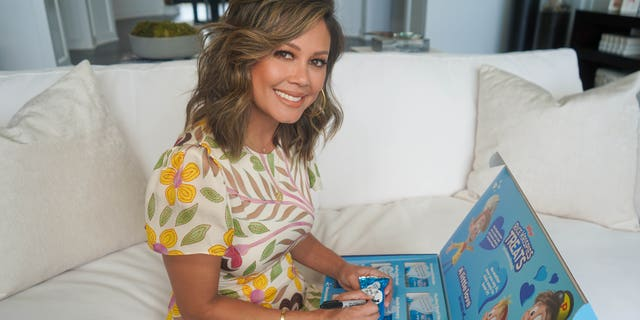Vanessa Lachey partnered with Rice Krispies for the company's 'Love in Case of' project