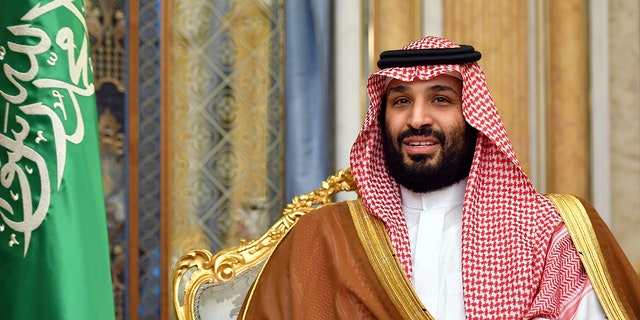 Saudi Arabia's Crown Prince Mohammed bin Salman attends a meeting with U.S. Secretary of State Mike Pompeo in Jeddah, Saudi Arabia, Sept. 18, 2019. (Mandel Ngan/Pool via REUTERS/File Photo)