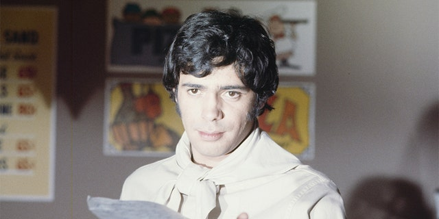 Reni Santoni in 'Love and the Letter' on Oct. 6, 1969.