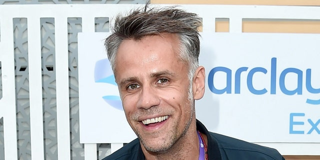 Richard Bacon revealed he and three passengers are OK after his Land Rover went up in flames in Los Angeles on Tuesday.