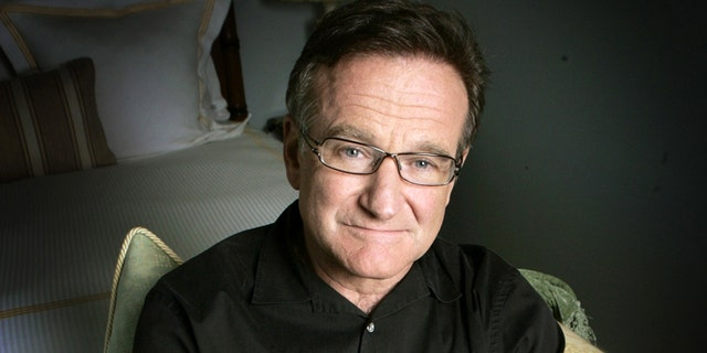 Actor and comedian Robin Williams poses for a photo in Santa Monica, Calif.