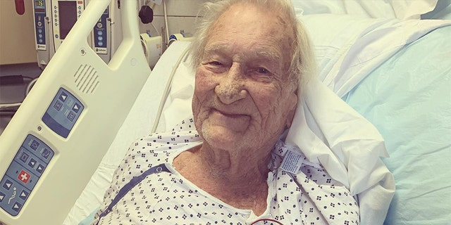 Navy Veteran Rudy Armstrong, 86, suffered a stroke in his North Carolina home. (CarolinaEast Heath System)