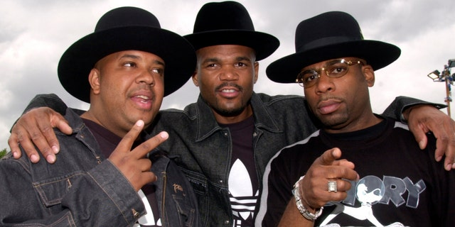 Run-DMC, from left to right:  Joseph 'Run' Simmons, Darryl 'DMC' McDaniel and Jam Master Jay. (Photo by Hayley Madden/Redferns)