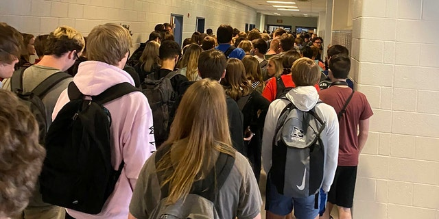 Students reportedly punished for posting crowded hallways online as Georgia schools reopen