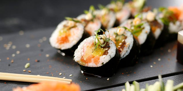 """A sushi chain offered free meals to people named """"Salmon"""" this week, prompting a surge of official name changes. (iStock)"""