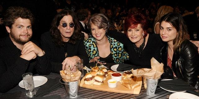 "Jack Osbourne, Ozzy Osbourne, Kelly Osbourne, Sharon Osbourne and Aimee Osbourne attend Spike TV's 4th Annual ""Guys Choice Awards"""