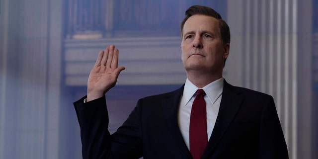 Jeff Daniels as James Comey