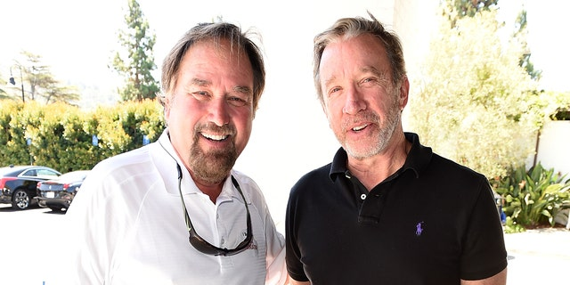 History Channel just gave viewers the first glimpse into the long-awaited reunion between 'Home Improvement' stars Tim Allen and Richard Karn for 'Assembly Required.' (Photo by Kevin Winter/Getty Images for SAG-AFTRA Foundation)