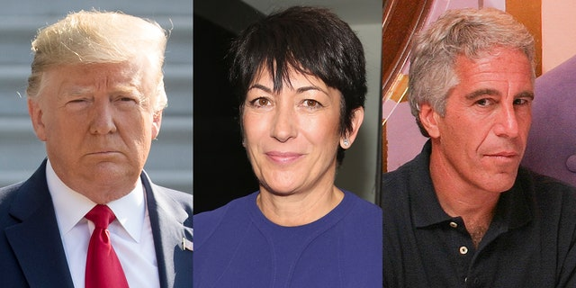 President Trump; Ghislaine Maxwell; Jeffrey Epstein (Getty Images)