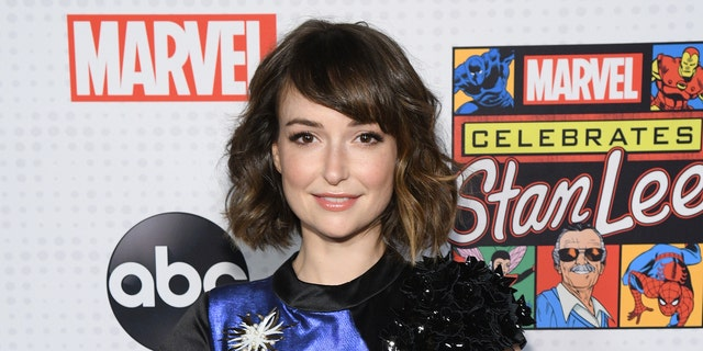 AT&T commercial star Milana Vayntrub spoke out about online sexual harassment she's been dealing with.