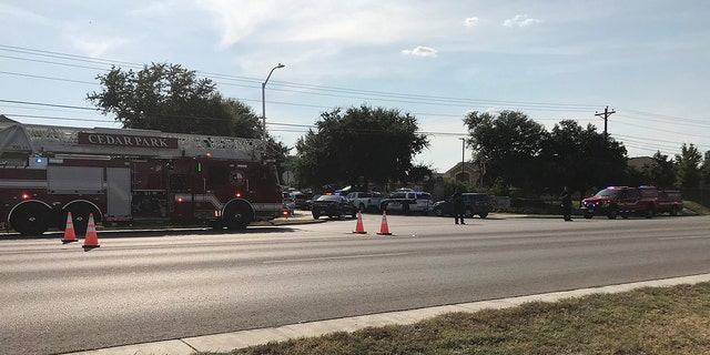 Several law enforcement agencies responded to the shooting at a home on Natalie Cove in the Heritage Park subdivision in Cedar Park, Texas.