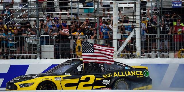 Brad Keselowski gets third 2020 NASCAR win at New Hampshire
