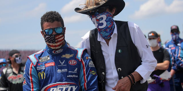 Wallace has been racing for Richard Petty Motorsports since 2017.
