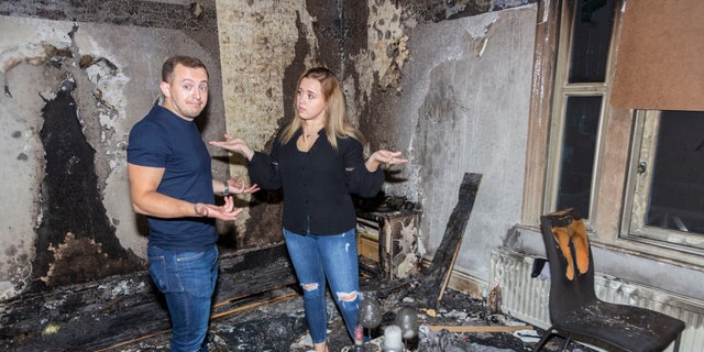 Sheffield marriage proposal causes flat fire