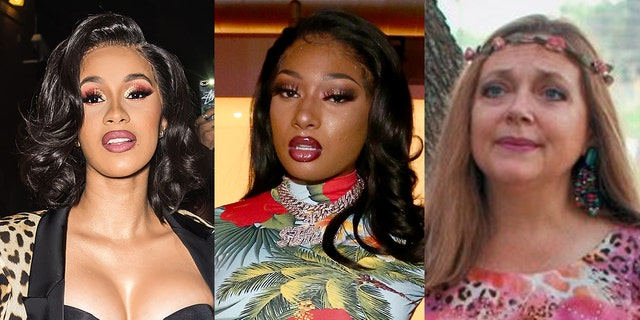 animals Cardi B and Megan Thee Stallion were called out by 'Tiger King' star Carole Baskin over their new 'WAP' music video.