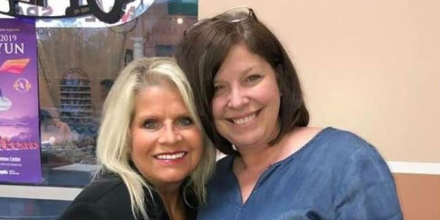 ​​​​​​​Rebecca Lynn O'Donnell, right, pleaded guilty to first-degree murder and abuse of a corpse in the death of former Arkansas state Sen. Linda Collins, left. (Facebook)