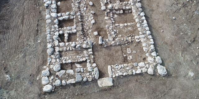 The Biblical-era fortress.