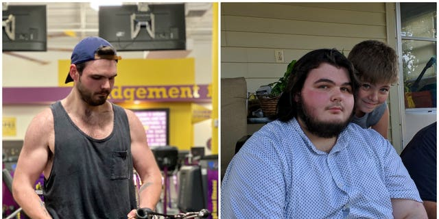 Dylan Wall weighed 425 pounds when he graduated high school in 2017. (SWNS)