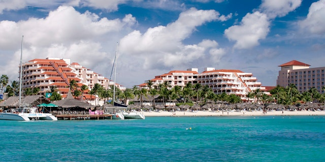 Hotels In Aruba, Dutch Antilles. (Photo: MyLoupe/UIG Via Getty Images)