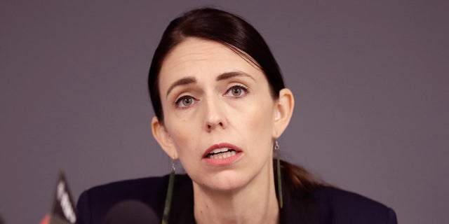 New Zealand's Prime Minister Jacinda Ardern has introduced a new lockdown for Auckland.  She will be shown here during a press conference in December 2019. (AP)