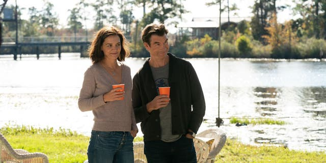 Katie Holmes and Jerry O'Connell