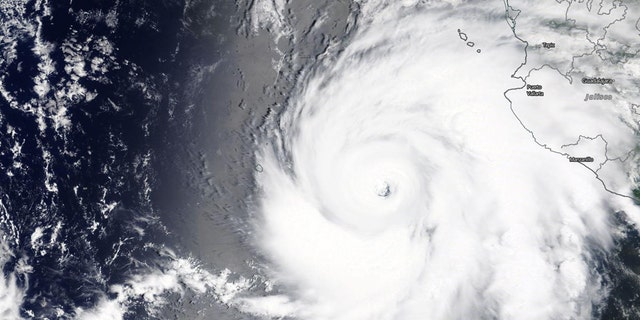 Hurricane Genevieve rapidly strengthened to a Category 4 major storm on Tuesday.