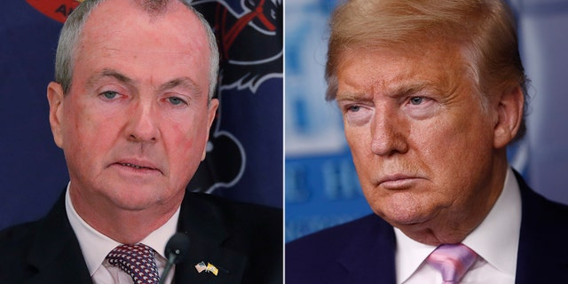 The Trump campaign and the RNC are suing New Jersey over an executive order by Gov. Phil Murphy setting up universal vote-by-mail for the Nov. 3 election. (Reuters)